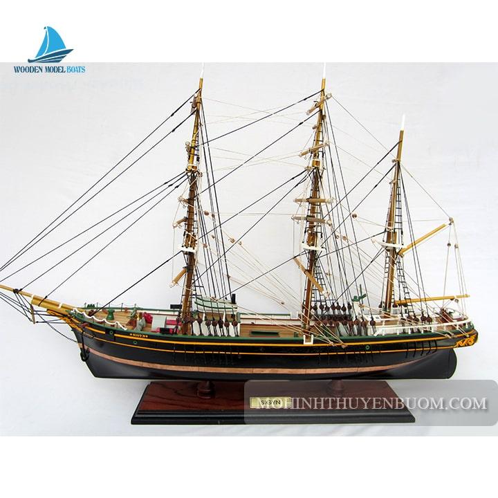 mô hình thuyền gỗ sigyn