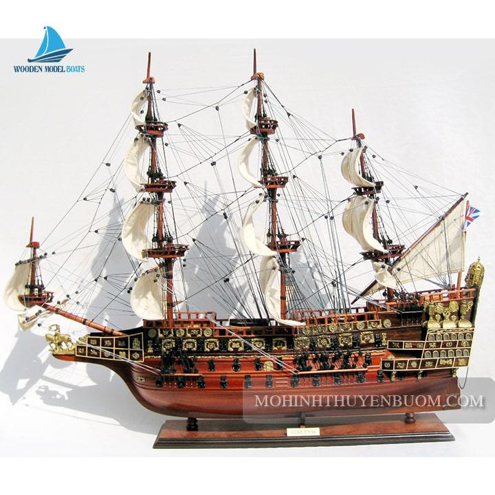 mô hình thuyền gỗ sovereign of the seas