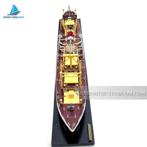 Thuyền Ss American Scout C2 Waterline Model