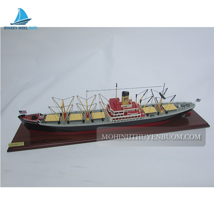 thuyền thương mại hawaiian pilot waterline