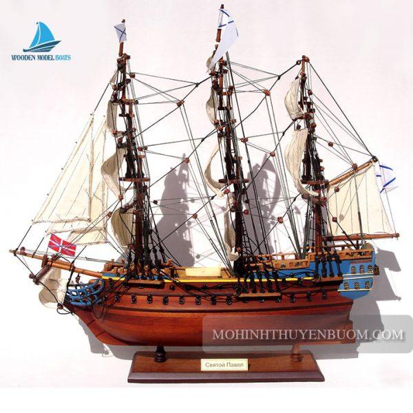 Mô Hình Thuyền Gỗ St. Pavel