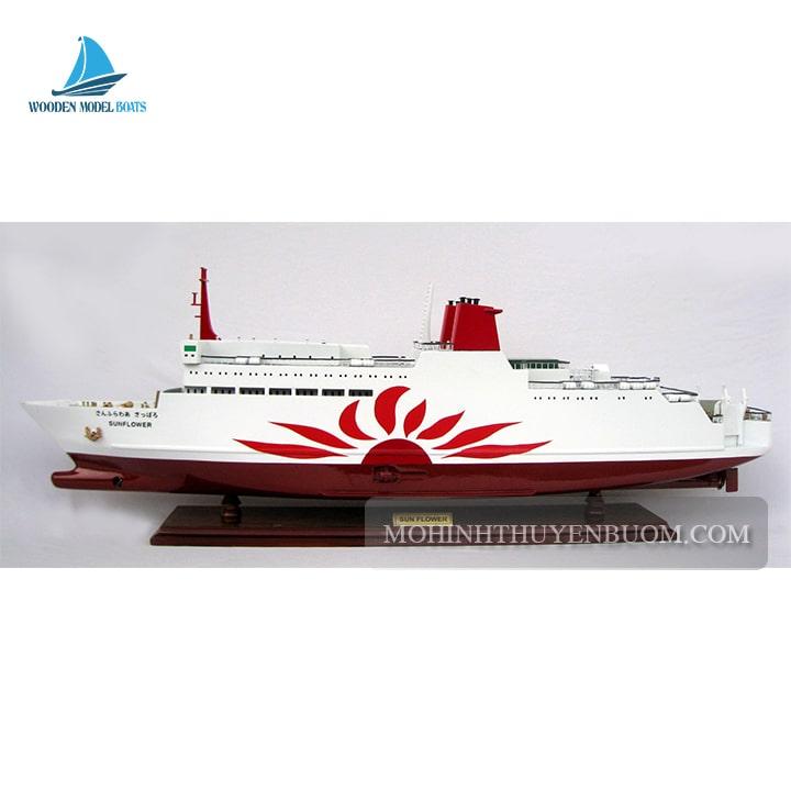 thuyền du lịch sun flower