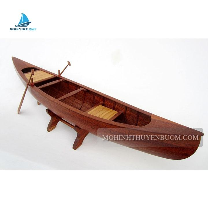 mô hình thuyền truyền thống