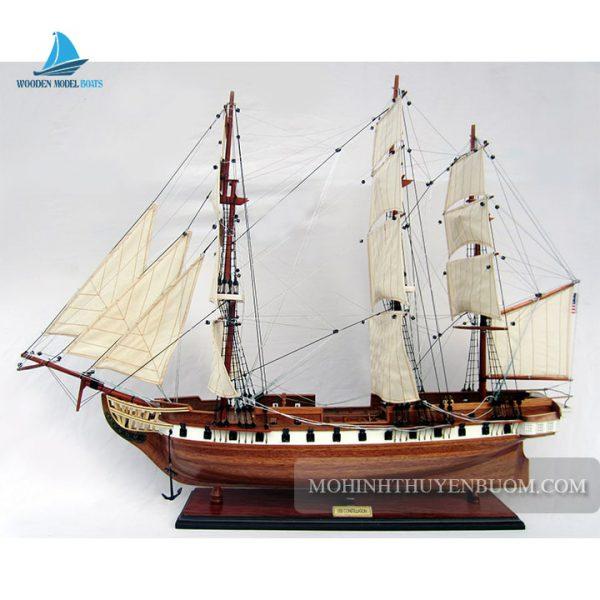 mô hình thuyền gỗ uss constellation