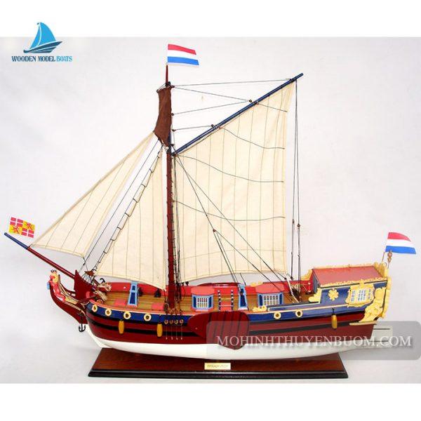 mô hình thuyền gỗ utrechts statenjacht