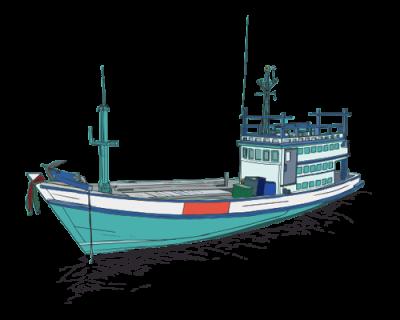 Mô Hình Thuyền Đánh Cá