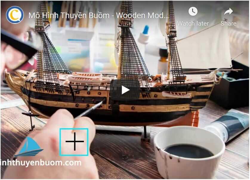 Video Mô Hình Thuyền Buồm